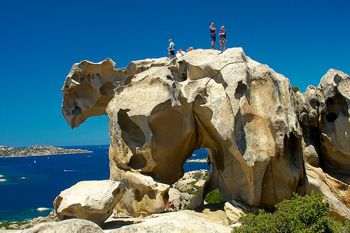 Медвежья Скала-достопримечательность Сардинии