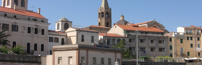 Город Сардинии Алгьери