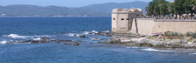 Сардиния - карты