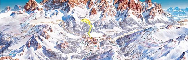 Сан-Мартино-ди-Кастроцца -горнолыжный курорт в Италии