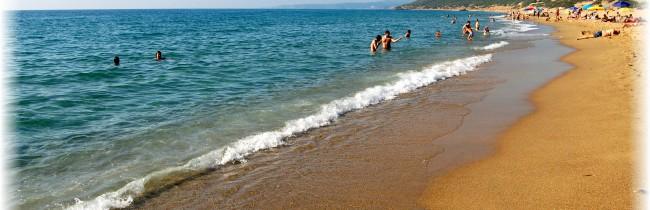Прекрасный курорт Сардинии Кала Гононе