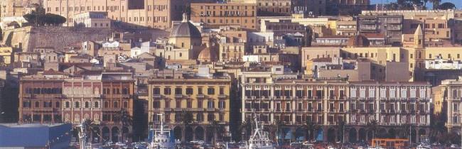 город Кальяри, Сардиния