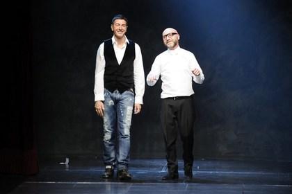 Стефано Габбано (слева) и Доменико Дольче