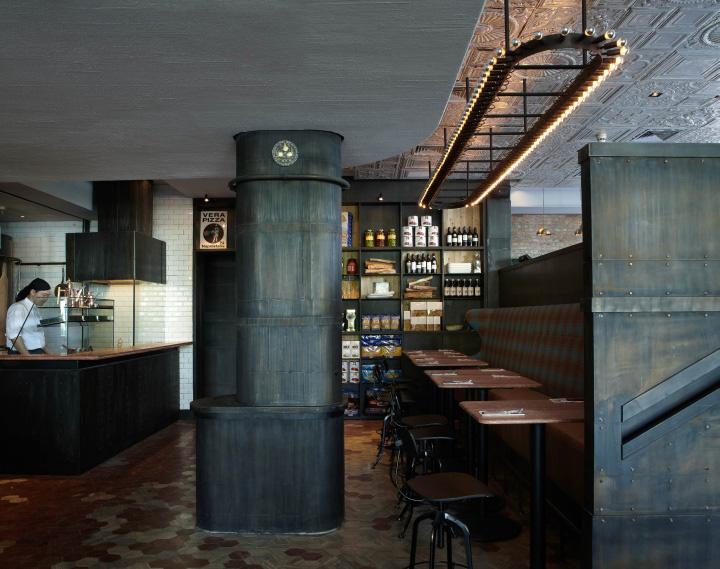 Ресторан Matto в стиле лофт