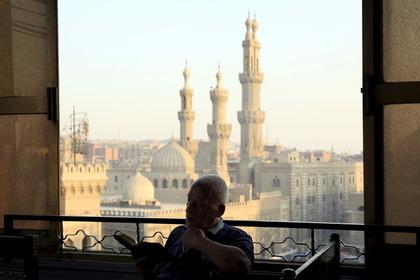 Вид на центр Каира