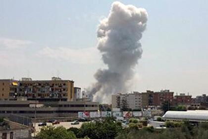 Взрыв на заводе фейрверков